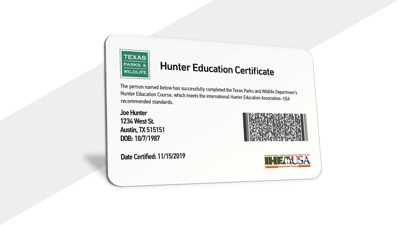 HUNTINGsmart! Texas Hunter Safety Education Course