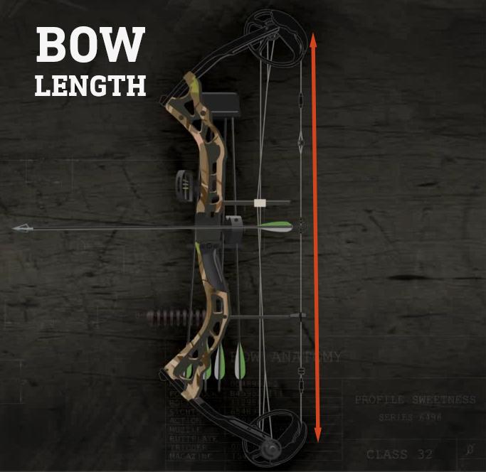 Compound-bow-length